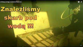 skarb ze złotego pociągu w jeziorze Piaseczno