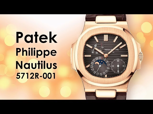 Patek Philippe Watch Nautilus Mens Rose Gold 5712R-001 Video by Big Watch Buyers
