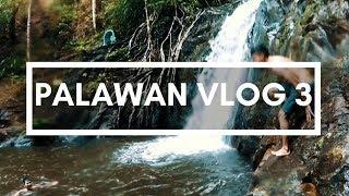 Palawan Vlog - Exploring the Waterfalls - El Nido Palawan (Nearly drowned my cousin!)