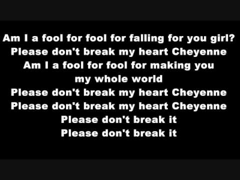 Greyson Chance Cheyenne- lyrics