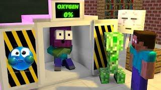 Monster School BREATH HOLDING CHALLENGE Minecraft Animation