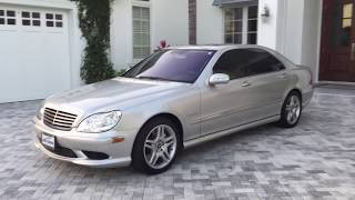 2005 Mercedes Benz S55 AMG Review and Test Drive by Bill - Auto Europa Naples