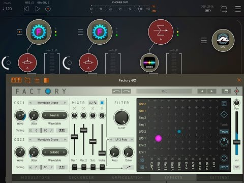 How To Set Up A Drone Session With Sugar Bytes FACTORY Synth - Live Stream