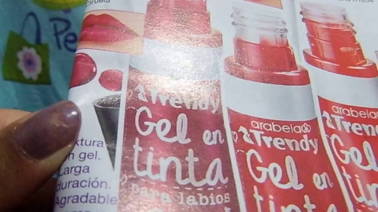 fba46019d990 Gel en tinta para labios Arabela Trendy by Ari y sus catálogos