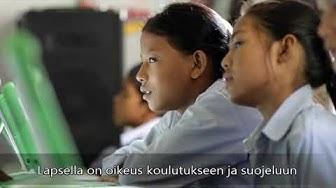 Lapsen oikeuksien sopimus 30 v. − Interpedia 45 v.