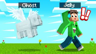 MINECRAFT But MOBS Turn INTO GHOSTS! (Creepy)