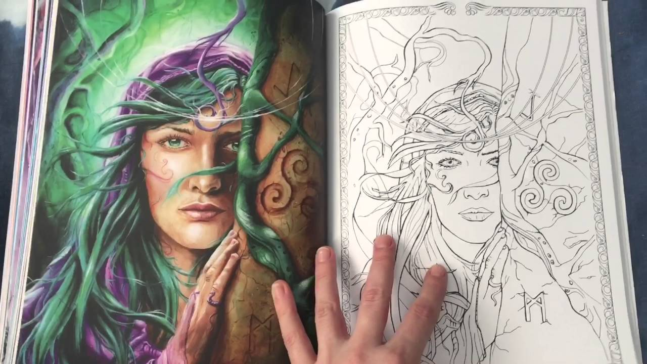 Spirit Amp Fantasy Coloring Book By Michelle Tracey Full