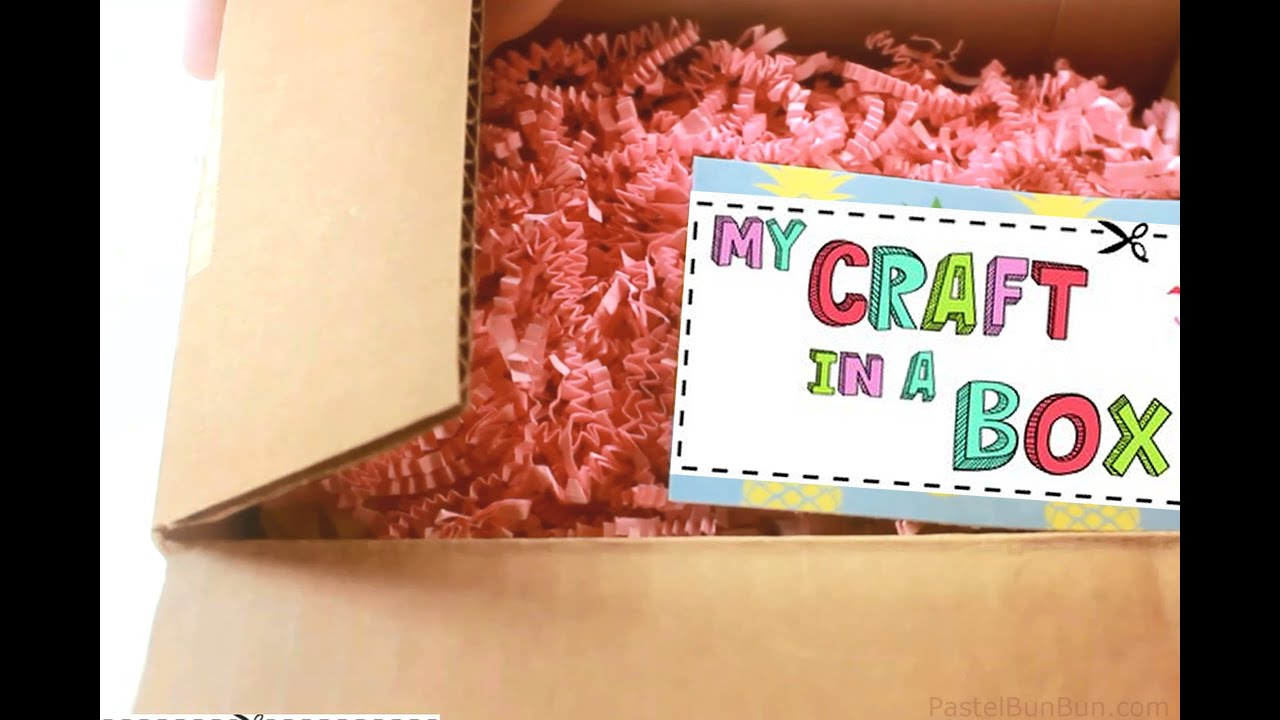 bunbun reviews my craft in a box monthly subscription service 7 30