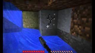 Играем в Minecraft часть 3- криперы-кролики