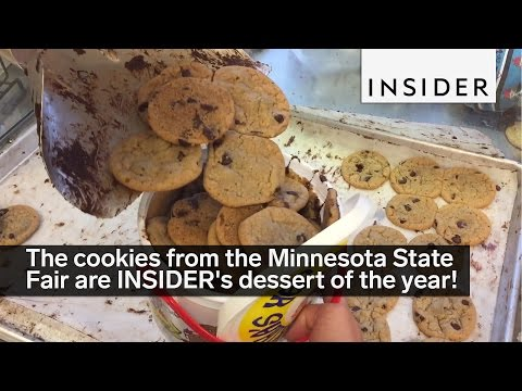 The cookies from the Minnesota State Fair are INSIDER&39;s dessert of the year