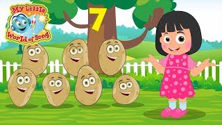 One Potato Two Potato Sing A Long Nursery Rhyme 1 Potato 2 Potato
