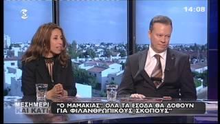 Ο ΜΑΜΑΚΙΑΣ | SIGMA TV INTERVIEW