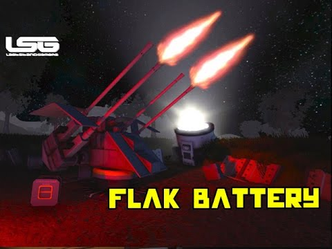 space engineers flak battery scene anti air youtube. Black Bedroom Furniture Sets. Home Design Ideas