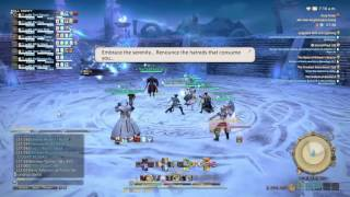 FINAL FANTASY XIV Gameplay - Frozen Fall