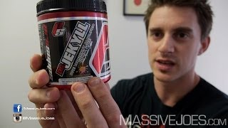 ProSupps Dr Jekyll Pre-Workout - MassiveJoes.com RAW REVIEW Pro Supps Supplement Jekyl