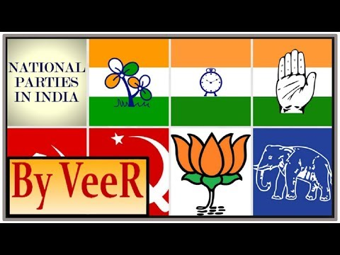 L-97- Political Parties System in India (BJP, Congress,BSP ) & World (USA- Democrats & Republicans)