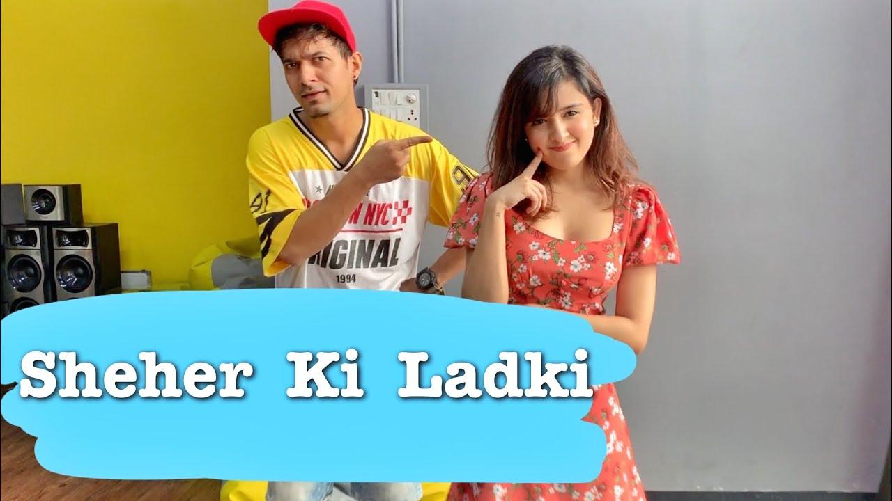 Sheher Ki Ladki   Shirley Setia ft. Vivek Dadhich Choreography