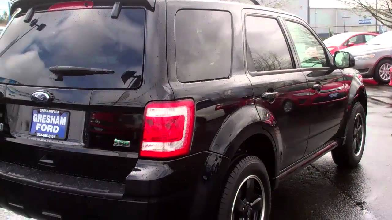 Luxury Vehicle: Compare Ford Factory Certified Pre Owned 2010 Escape Sport