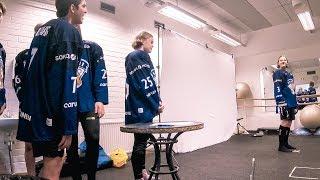 Pelaajakuvaukset minuutissa – Vilinää U16:n kuvauspisteellä
