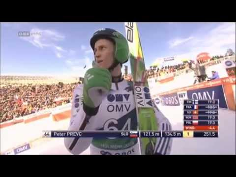 Peter PREVC [3rd Place] Ski Jumping - Oslo - 15.03.2015