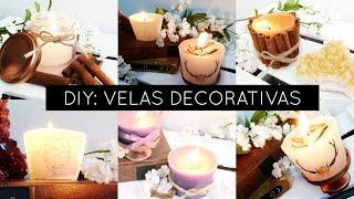 Aprenda fazer velas Decorativas