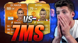 MOTM DI MARIA VS MAN UNITED DEPAY!! - Fifa 15 7 Minute Squad Builder w/ Jack54HD