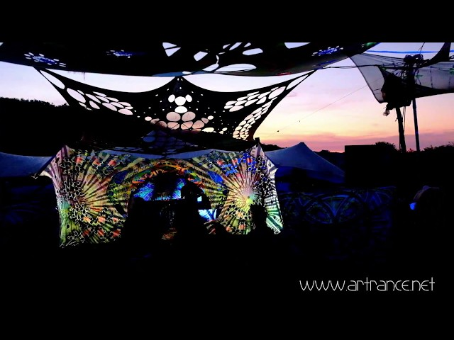 Apsara festival 2018 - Videomapping