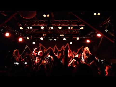 Entombed A.D. - Night of the Vampire (ft Messiah Marcolin) Katalin Uppsala, 2018-09-22