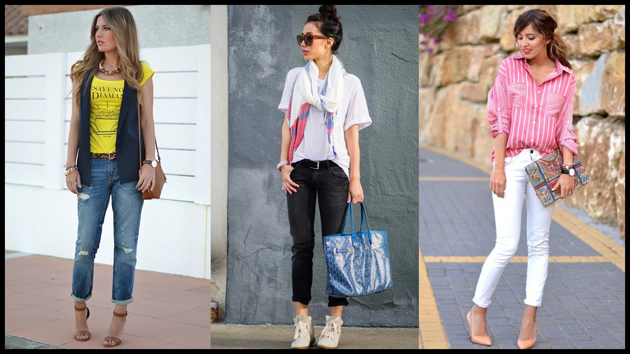 How To Wear Lovely Spring Street Style Outfits Youtube
