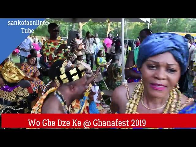 Wor gbe dzeke @ Ghanafest 2019