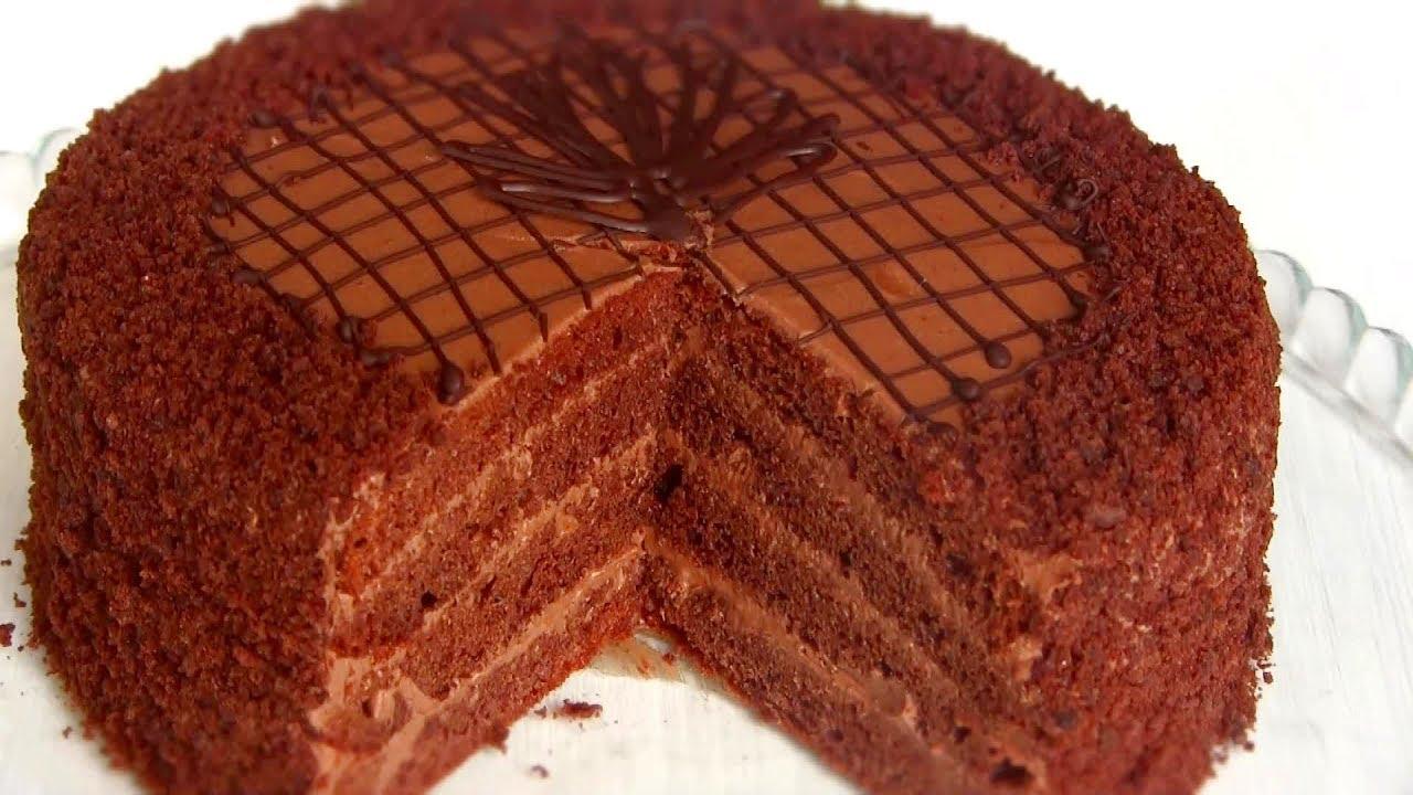 Пражский торт пошаговый рецепт со сгущенкой 58