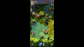 Valiant Heroes (by King) - strategy game for android - gameplay.