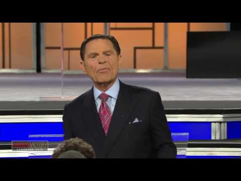 Kenneth Copeland becomes Demon Possessed on stage.