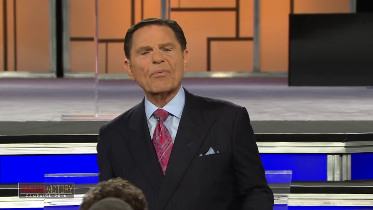 Download Kenneth Copeland becomes Demon Possessed on stage.