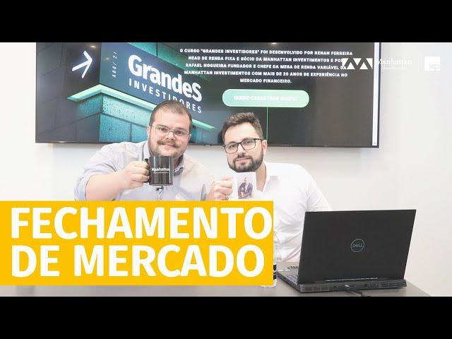 COMPRE AO SOM DE CANHÕES E VENDA AO SOM DO VIOLINOS - Fechamento de Mercado - 17/09/2021