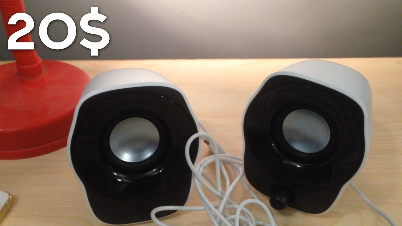 speakers under 20. logitech z120 speakers unboxing best budget \u0026 quality speakers under 20$ (2017/2018) 20 o