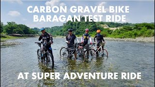 Carbon Gravel Bike - Baragan Test Ride at Super Adventure Ride