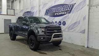 Pre-owned 2015 Ford F-150 SuperCrew Lariat Sport 502A W/ 3.5L EcoBoost Overview | Boundary Ford