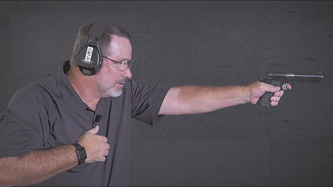 Shooting One-Handed with the RO Elite in 10mm | Gun Talk