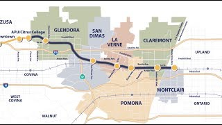 Building the Foothill Gold Line from Glendora to Montclair