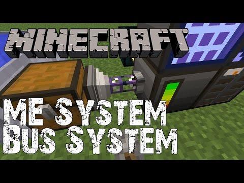 Minecraft Tutorial - ME System - Import und Export Bus
