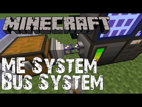 Minecraft Tutorial ME System Import Und Export Bus Most - Minecraft tutorial spielen