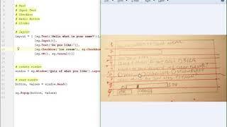 Lesson 3 - Tutorial - Python GUI Programming with PySimpleGUI