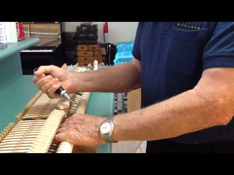 Voicing piano hammers