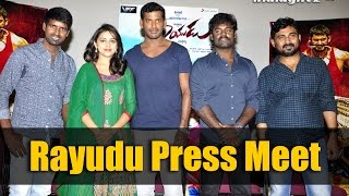 Rayudu Movie Press Meet   Vishal   Sri Divya   Indiaglitz Telugu   Exclusive