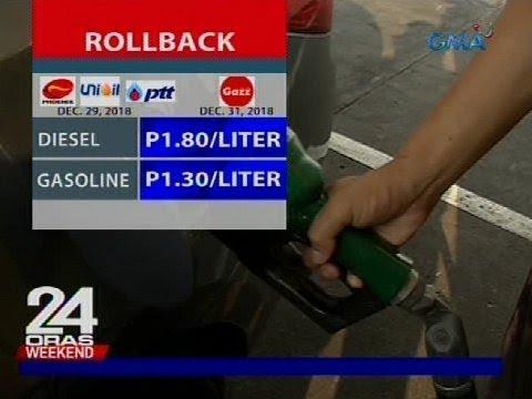 Ilang oil company, may rollback bago matapos ang taon