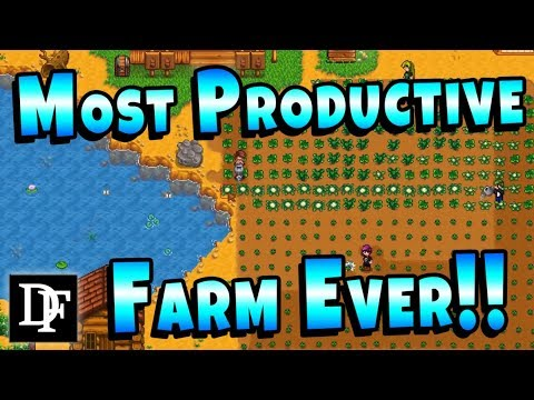 Most Productive Farm Ever?! - Stardew Valley Multiplayer