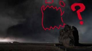 Demon Face on Eyjafjallajökull (Demon Volcano in Iceland)