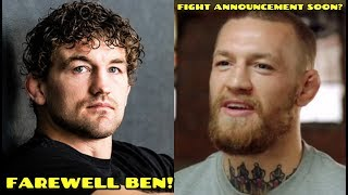 MMA community reacts to Ben Askren retiring from MMA,Conor McGregor training for upcoming fight?