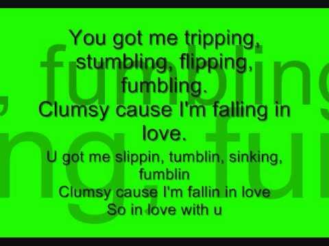 Clumsy - Fergie. lyrics